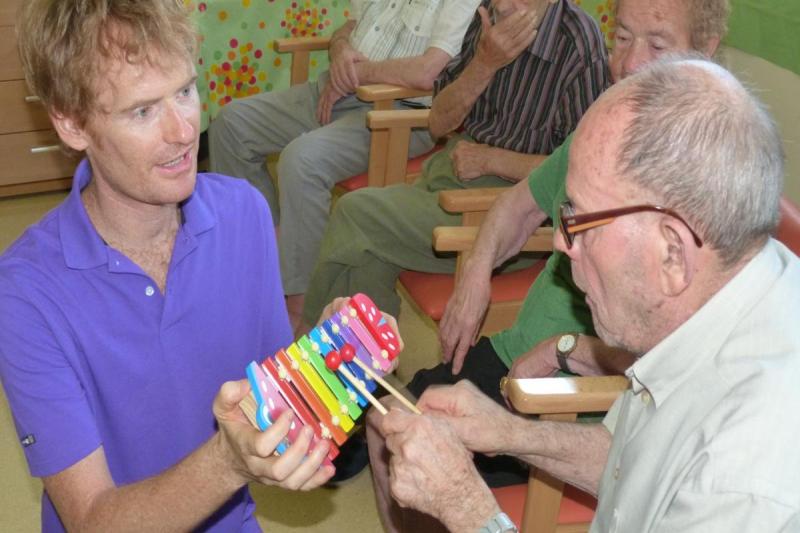 Improvisación con instrumentos melódicos