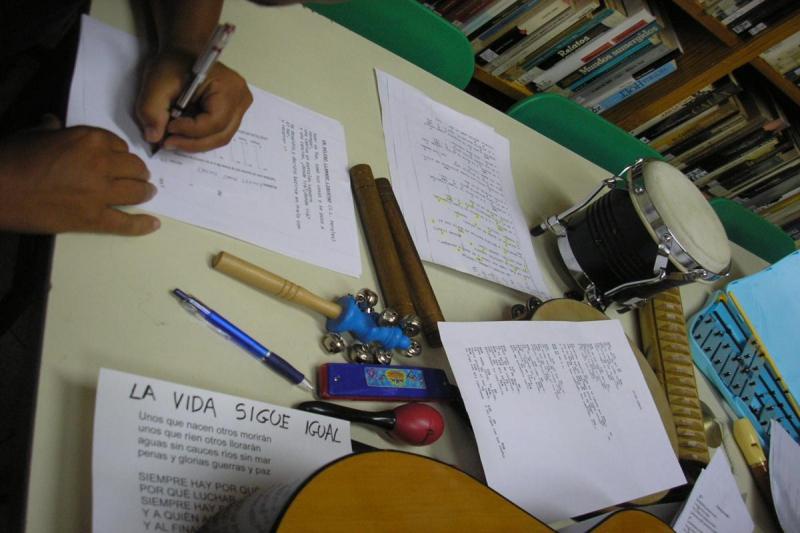 Composición de letras y canciones