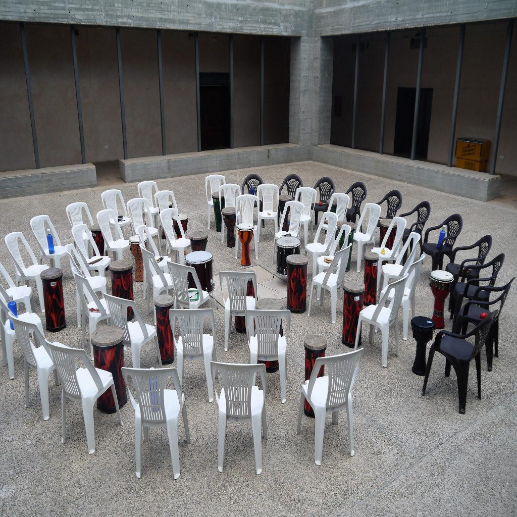 Drum circles comunitarios